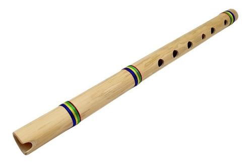 Quena Peruana Bambú Flauta Artesanal Afinación C Do Profesi.