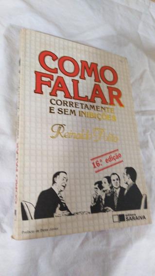 Livro Reinaldo Polito Como Falar Corretamente Ed. Sem O Cd