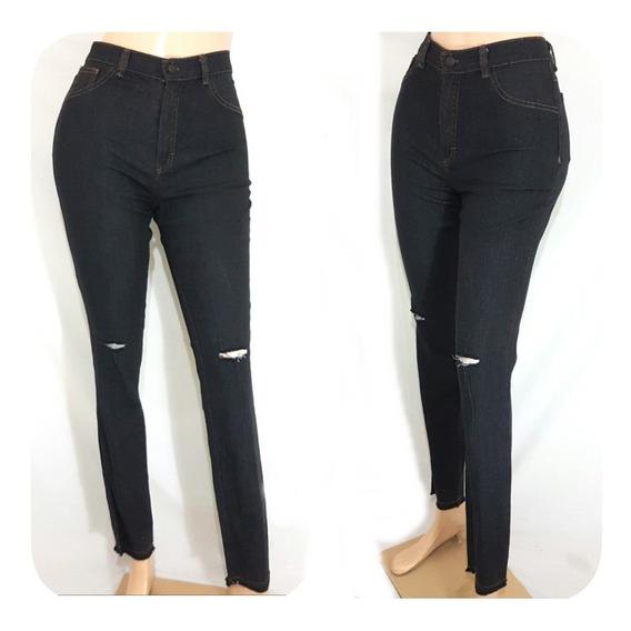 Pantalón Jeans Para Damas Corte Medio Y Alto Efecto Faja