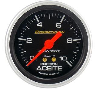 Presion De Aceite Orlan Rober Competicion 60mm 10 Kg
