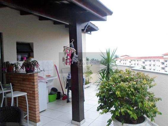 Cobertura Duplex No Indaiá Em Caraguatatuba ,3 Quartos 1 Suíte - V368