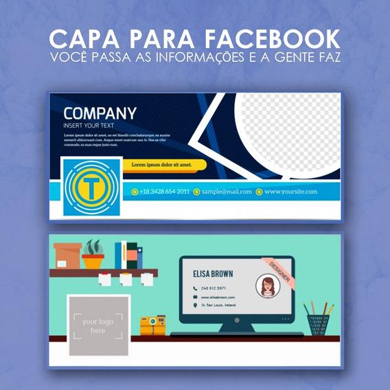 Capa Para Facebook - Criação De Banner Para Página