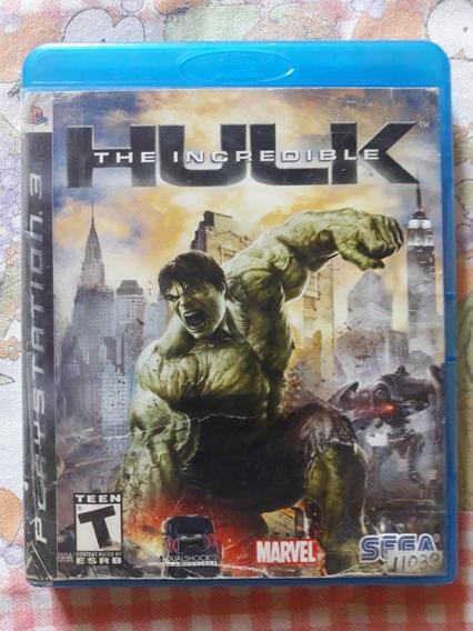 The Incredible Hulk Playstation 3