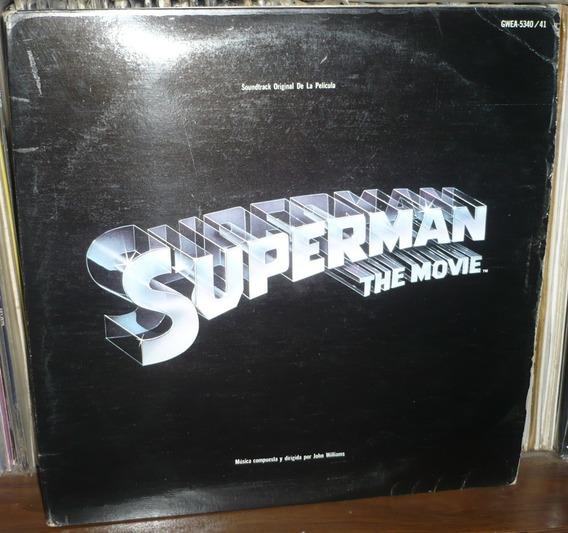 Superman The Movie 2 Lp Soundtrack John Williams