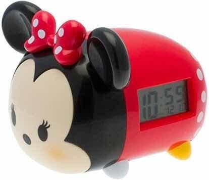 Reloj Despertador Bulb Botz Tsum Tsum Minnie Mouse De 19 Cm
