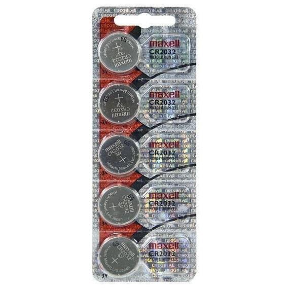 Bateria Cr2032 P Placa Mãe Cartela C. 5 Unidades