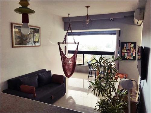 Imagem 1 de 14 de Venda - Apartamento 2/4 - Modern Living Garibaldi - Salvador