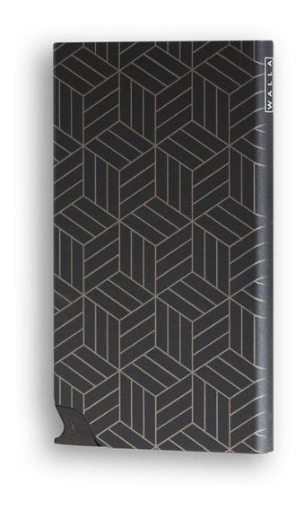 Protector De Tarjetas - Card Slider Walla - Black Cubic