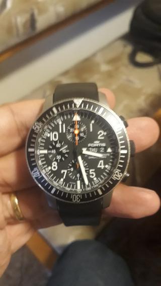 Relogio Fortis B42 Oficial Cosmonaut Cronografo Titanium