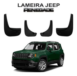 Kit Acessorios Jeep Renegade Soleira + Lameiro + Travessa
