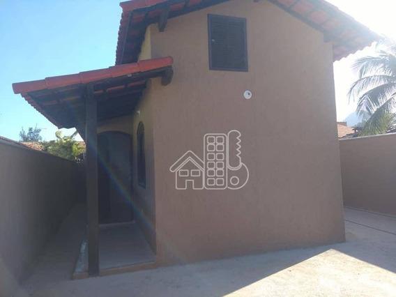Casa Com 2 Dormitórios À Venda, 60 M² Por R$ 200.000,00 - Barroco (itaipuaçu) - Maricá/rj - Ca1248