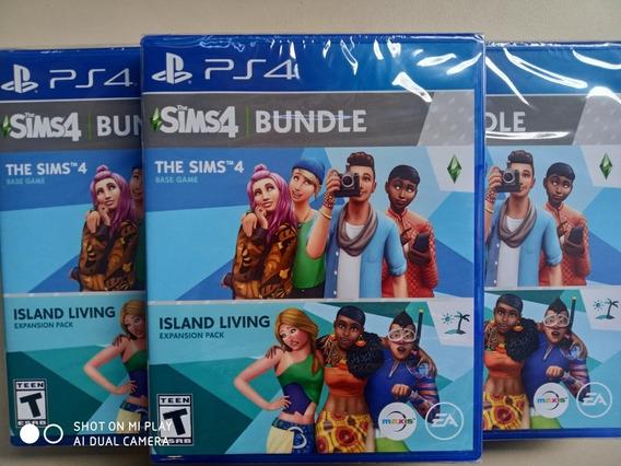 Jogo The Sims 4 + Island Living Bundle Ps4 M. Fisica Novo