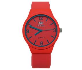 Relógio Feminino adidas Laranja E Verde Água
