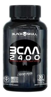Bcaa 2400 Caveira Preta 30 Tabs - Black Skull
