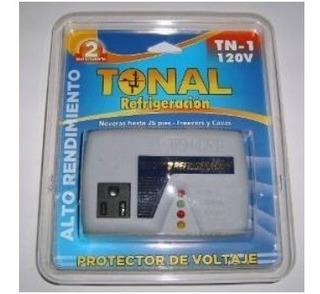 Protector De Voltaje Tonal Refrigeración Mod Tn-1 120voltios