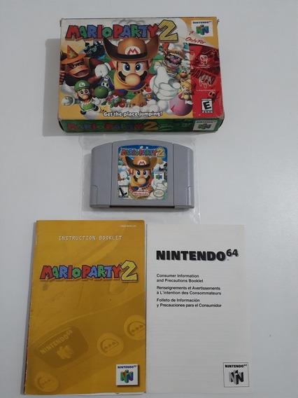 Jogo Mario Party 2 (nintendo 64)