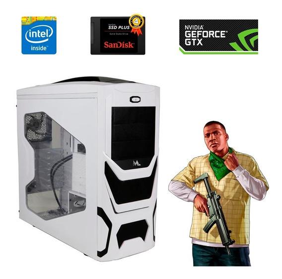 Computador Gamer 4gb 2.9ghz Ssd 120gb Placa Vídeo 2gb Barato