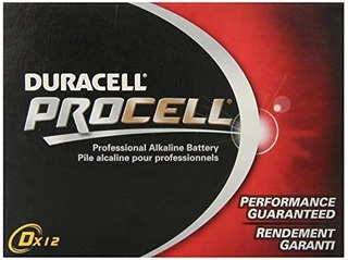 Duracell New Mega Size Package D12 Procell Batería !