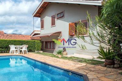 Casa Residencial À Venda, Recreio Maristela, Atibaia - Ca0125. - Ca0125