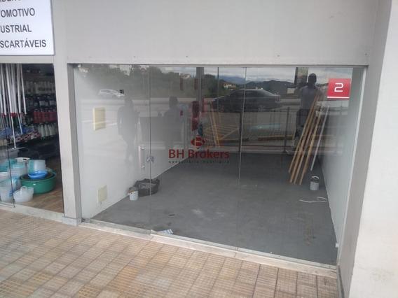 Excelente Loja 65m² Para Alugar No Espaço Nova Lima, E Duas Vagas De Garagem - 16693