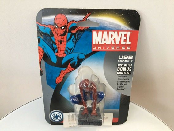 Pen Drive Spider Man Marvel