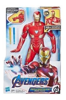 Iron Man Rayo Repulsor Endgame Avengers