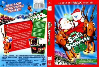 Santa Vs. The Snowman Dvd 3d Nueva E Importada