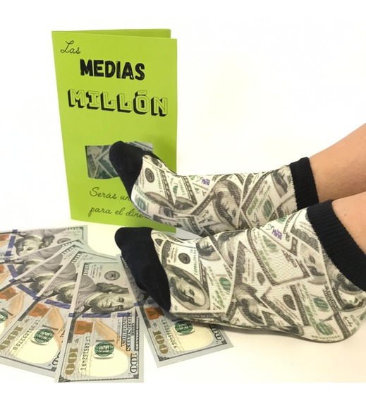 Medias Del Millón - Dólares - Atrae El Dinero Línea Premium