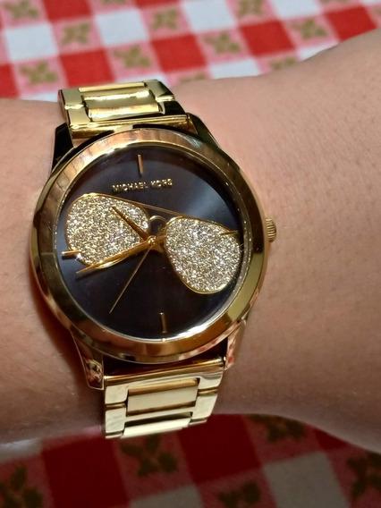 Relógio Feminino Michael Kors Hartman Gold