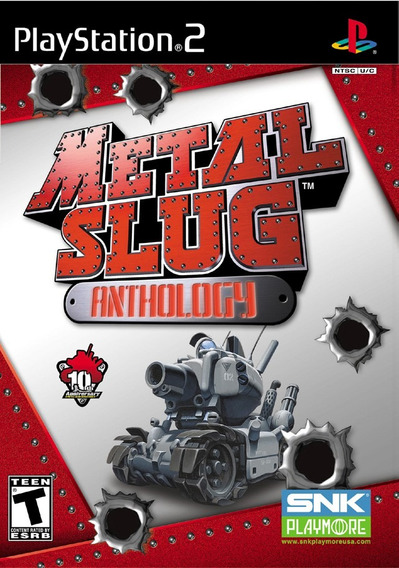Metal Slug Anthology Playstation 2 Ps2 7 Em 1