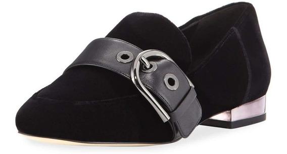 Zapatos Michael Kors Para Dama Cooper Velvet Slipper Loafer