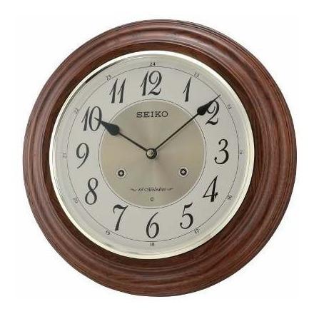 Reloj De Pared Seiko Con Melodía Qxm283b   Envío Gratis