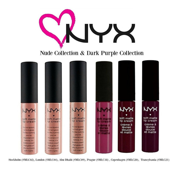 Nyx Matte Lipstick Labial Softcream Elegí Tu Color