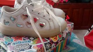 Zapatillas Luz Footy Nena ,a La Venta Otras adidas Y Nike