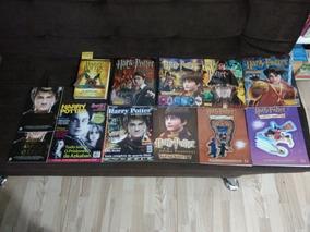 Livros Ilustrados Harry Potter + Livro + Revistas ( Leia )