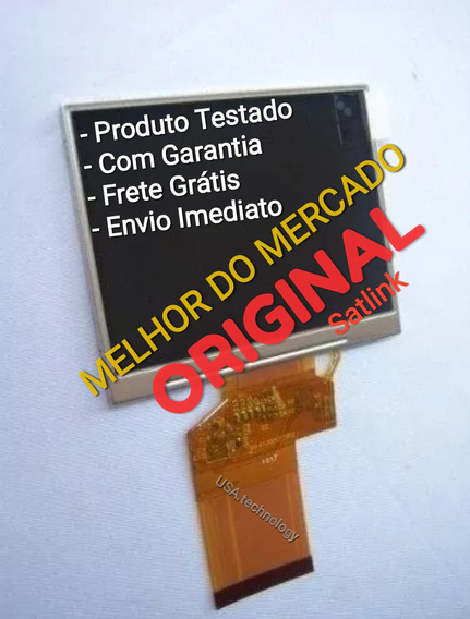 Satlink Lcd Display Tela De Substituição Original Ws 6906