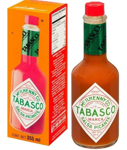 Salsa Tabasco Picante, Red Pepper, 355 Ml