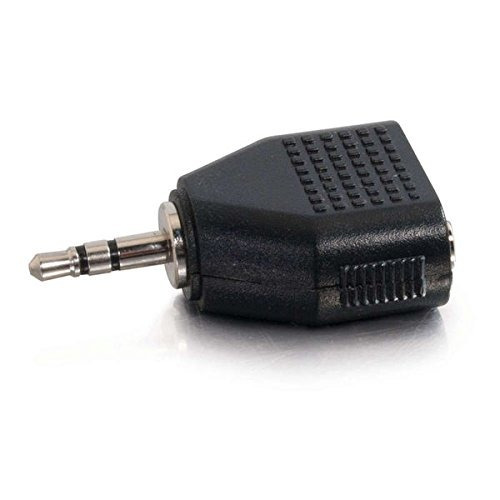 Adaptador C2g (40641) 3,5mm Con Dos Salidas 3,5mm Hembra