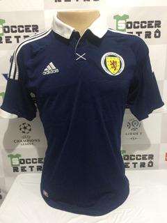 Camisa Escocia 2012-14 Sem Nome E Numero Tamanho P À P/ Ent