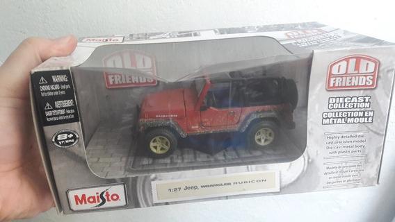 Miniatura Jeep Wrangler Rubicon Maisto 1:27