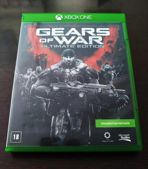 Gear Of War Ultimate Edition Xbox One Mídia Física Usado