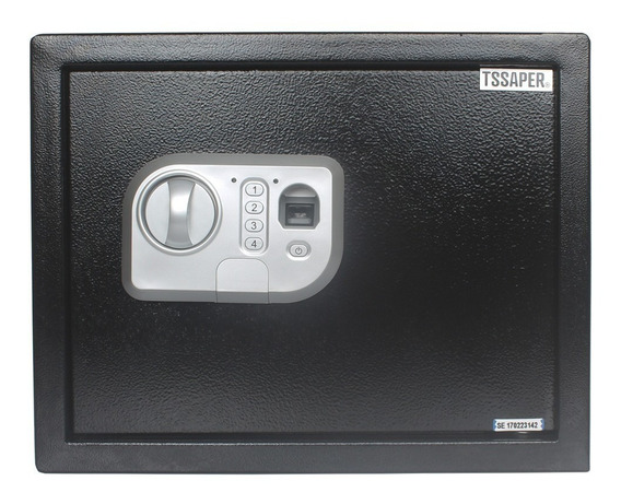 Cofre Digital Eletrônico Leitor Biométrico Chave Senha 30fpn