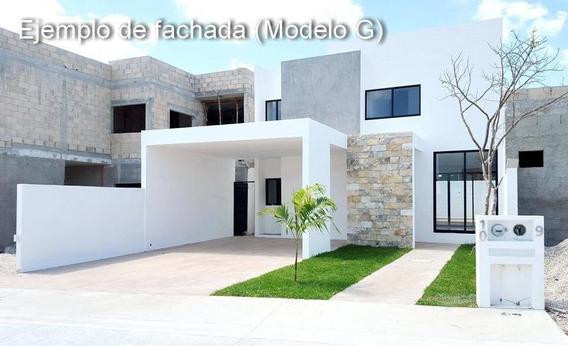 Privada Albarella, El Mejor Lugar Para Tu Hogar En Mérida, Mod. C