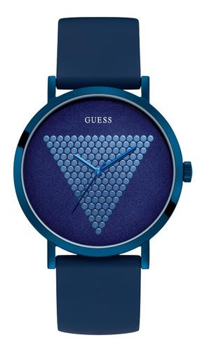 Reloj Guess Imprint Caballero W1161g4 Azul