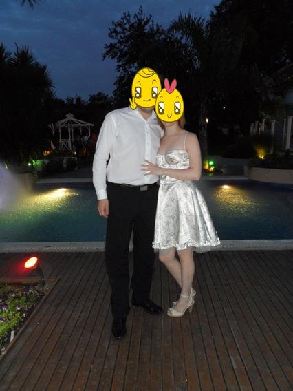 Vestido Acampanado Para Fiesta, Casamientio, 15 Años, Etc