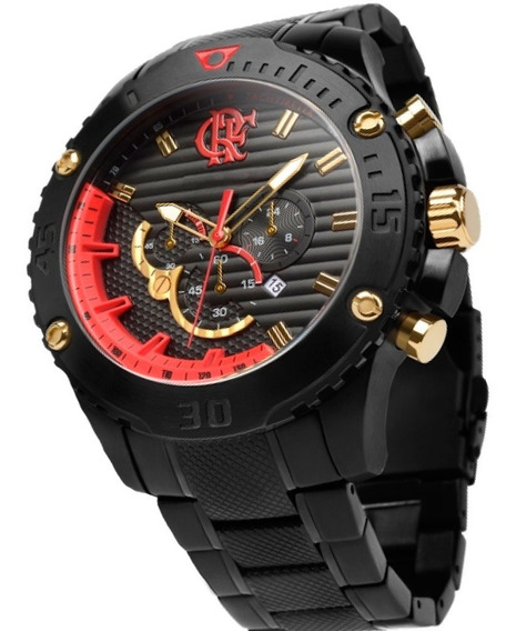 Relógio Technos Masculino Cr Flamengo Flaos2aaa/3r
