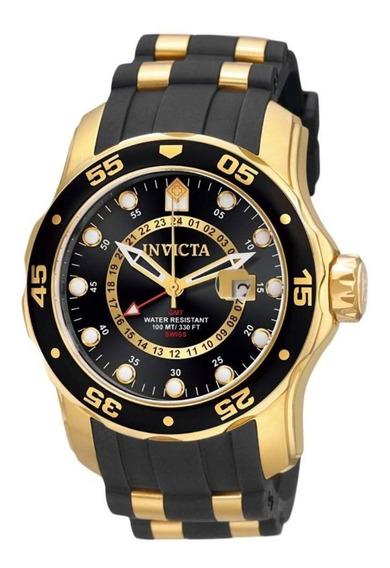 Relógio Invicta Pro Diver 6991 Original Banhado Ouro Novo U