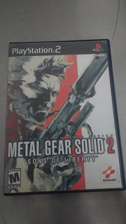 Metal Gear Solid 2. Ps2