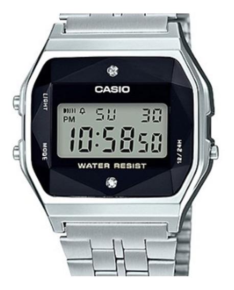 Relógio Casio Vintage Diamond A159wad-1df Original