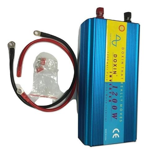 Inverter Solar 12v-220v Pot.1200w Onda Pura